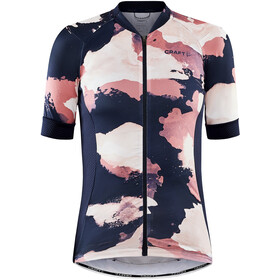 Craft ADV Endur Graphic Jersey Women blaze/coral